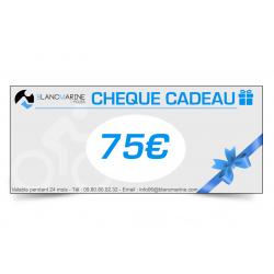 CHÈQUE CADEAU BLANC MARINE - 75 EUROS