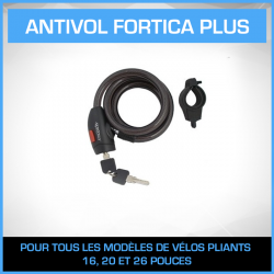ANTIVOL VELO FORTICA PLUS