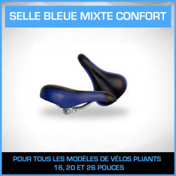 Selle Bleue mixte CONFORT