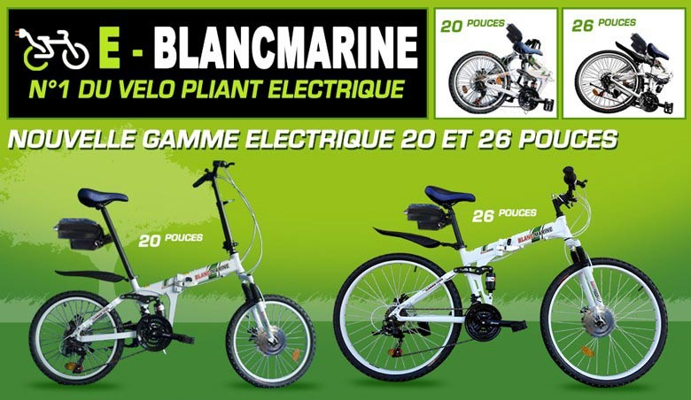 Vélo-pliant BLANCMARINE