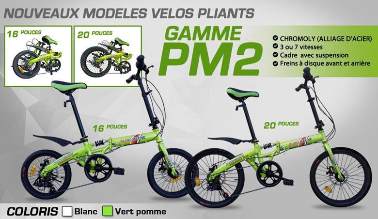 Gamme vélo-pliant PM2