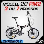 Vélo pliable 20 pouces 20PM2 Blancmarine