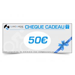 CHÈQUE CADEAU BLANC MARINE - 50 EUROS
