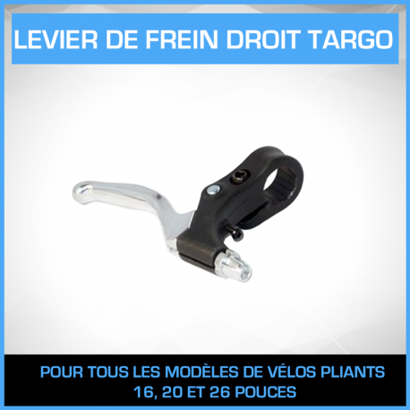 Levier de frein droit en Aluminium TARGO