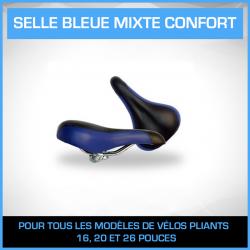 Selle Bleue mixte CONFORT