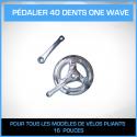 PÉDALIER 40 DENTS ONE WAVE - 16 PM3