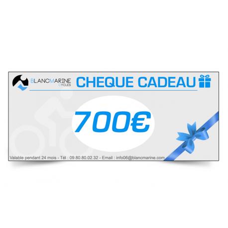 CHÈQUE CADEAU BLANC MARINE - 700EUROS