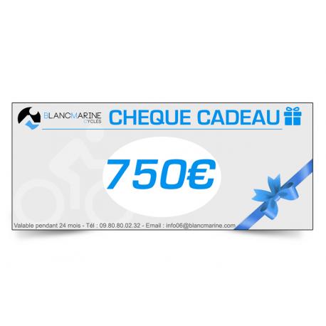 5CHÈQUE CADEAU BLANC MARINE - 750 EUROS