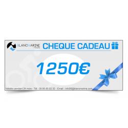 CHÈQUE CADEAU BLANC MARINE - 1250 EUROS