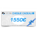 CHÈQUE CADEAU BLANC MARINE - 1550 EUROS