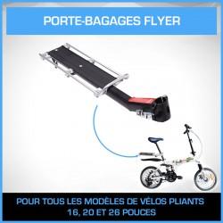 Porte-bagage Flyer Argent en aluminium
