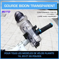 GOURDE BIDON TRANSPARENT 700cc