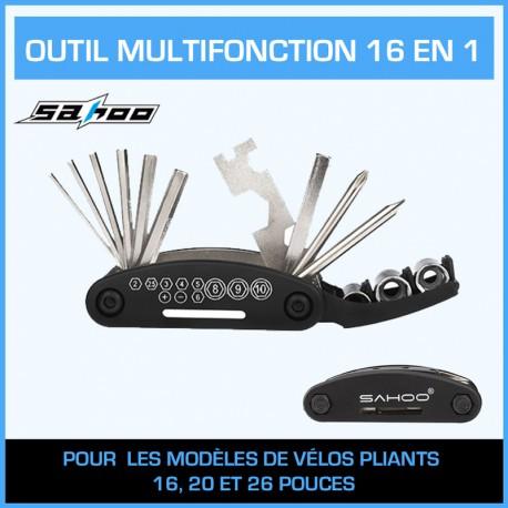 OUTIL MULTOFONCTION 16 EN 1 SAHOO