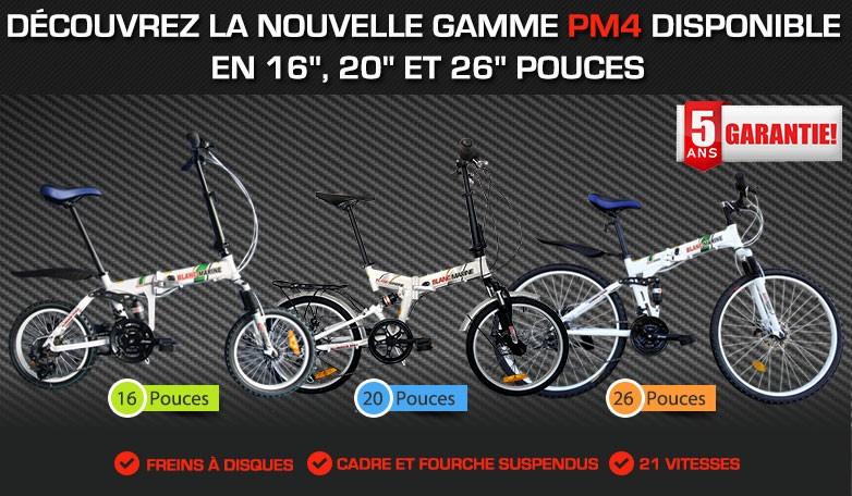 Gamme vélo-pliant PM4
